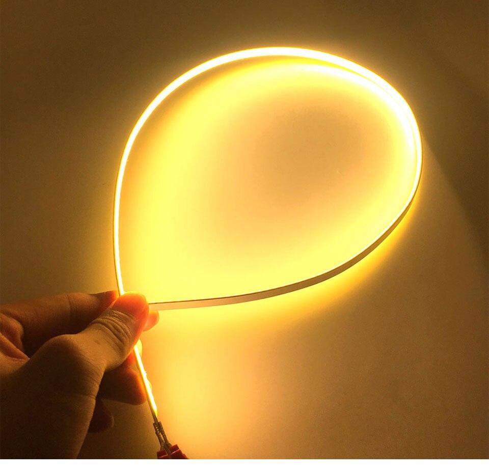 600x6mm LED Light Strip 60cm 12V 20W 3000K 6500K White Color COB LED Bar Lights for Car Lighting Bulb House Work Lamp DIY (20)