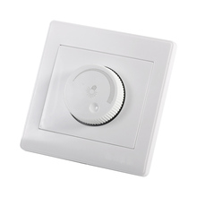 1Pcs Dimmer Switch Lamp Switch Wall Switch Practical Home Mounted Knob Lamp Brightness Controller Panel New