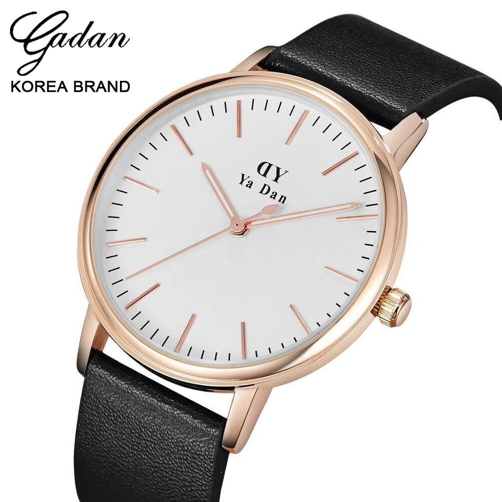 Men Classic Watch New Trend Brand Watches Simple Elegant Leather High-quality Alloy Men Waterproof Quartz Wristwatch With Box<br><br>Aliexpress