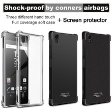 Buy IMAK Corners Airbag Shock-Proof Case Sony Xperia XA1 Plus Soft TPU Case Cover Sony XA1 Plus Dual Full Cover Matte Case for $4.99 in AliExpress store