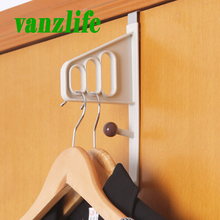 vanzlife creative after door hanger for coat suit scarf and bags nail free multifunction clothes hook rack
