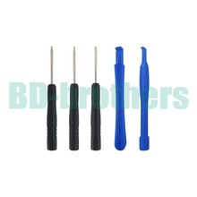 5 in 1 Opening Tools Kit Open Tool Set Opening Tool Sets ( Crowbar + T4 T5 T6 ) for Blackberry 500set/lot(China)