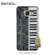 Amazing landscape hard pc Phone Case For GALAXY A5 2016 case Keyboard Synthesizer Music