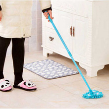 Multifunctional 180 Degree Rotating Mop Home Use Floor Dust Cleaning Tool Kitchen Cleaning Mop Telescopic Triangle Floor Mop