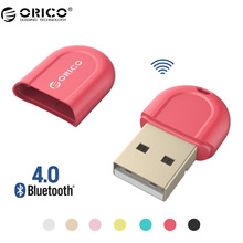 ORICO BTA-408 Red Color Mini USB Bluetooth 4.0 Adapter for Notebook Desktop PC(China)