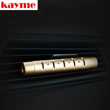Kayme new product air freshener perfume car outlet air conditioner purifie auto flavorings car smell aromatizer(China)