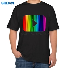 Vintage Tshirts Big Size For Men Youtube Logo T Shirt Funny Casual Plus Size 4xl Funny T-Shirt Men Top Quality