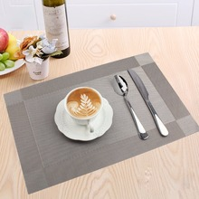 Modern Placemats for Table PVC Dining Table Mat Disc Pads Bowl Pad Coasters Waterproof Home Table Decoration Accessories 1 Piece