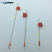Rompin 2pcs/lot Russian ice fishing float for low temperature -50C stick Plastic draft European buoy vertical winter fishing(China)
