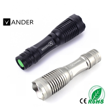 Vander Zoomable Torch Bike Light 5 Modes Cycle Light Front Cycling Led Lights Waterproof Big Capacity 2000 Lumens Super Bright