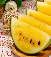 Original package 10G Japanese yellow flesh Watermelon Seeds, sweet Fruit WaterMelon fruit Seeds for home garden(China)