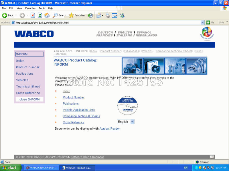 WABCO Part Catalouge<br><br>Aliexpress