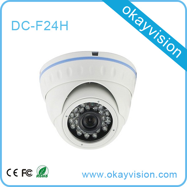 Best price 800TVL CMOS 960H 24pcs IR leds Day/night waterproof indoor analog CCTV camera with bracket. Free Shipping<br>