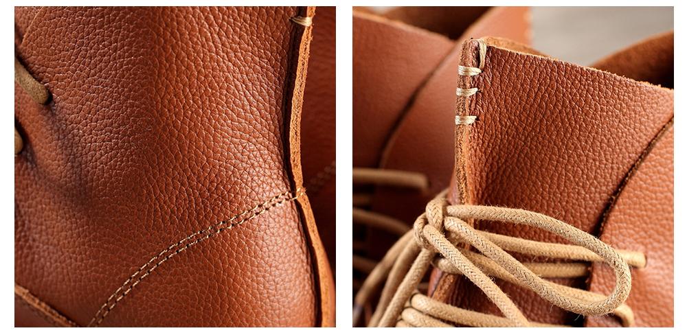 Vintage stiilis nööritavad saapad