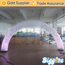 Outdoor Cheap Inflatable Lighting Wedding Event Arches Inflatable Archway With Led Light For Sale(China)
