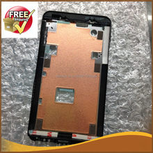 1 pcs front frame For htc desire hd G10 Front Housing LCD Frame Bezel Plate Black Color Free ship(China)