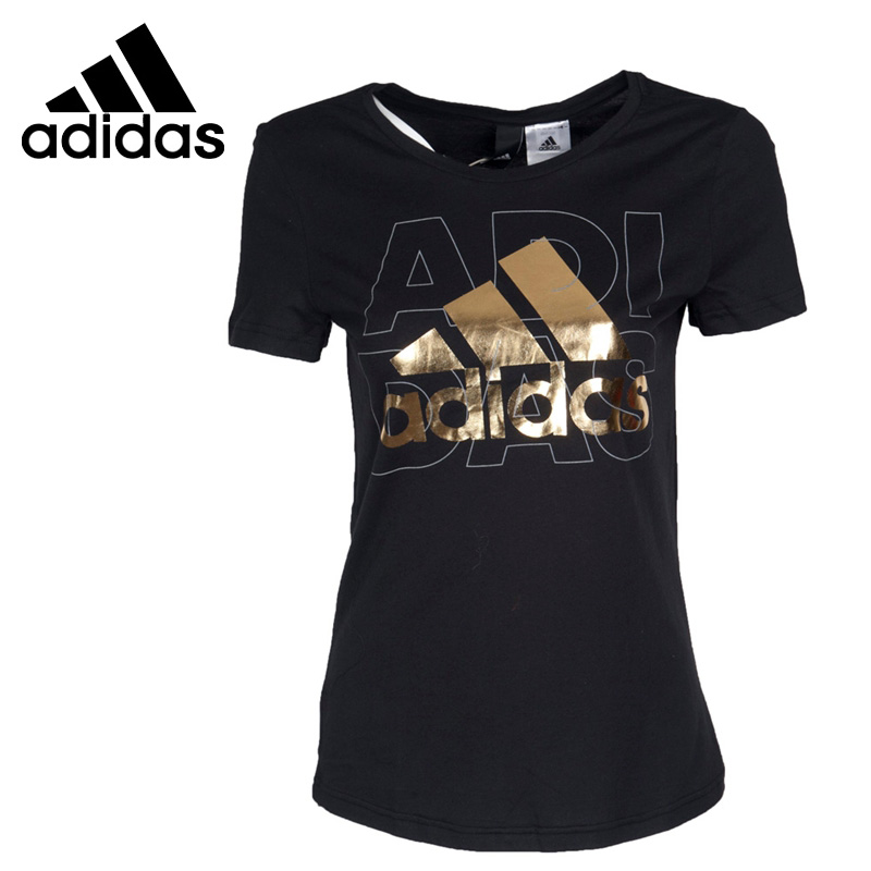 Original New Arrival 2017 Adidas Foil Logo Womens  T-shirts short sleeve Sportswear<br>