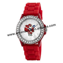 65pcs/lot Christmas GIFT Silicone Watches fashion Christmas gift watch wholesale,3 style promotion watch
