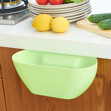 Colorful Eco-Friendly Novelty Hanging Sundries Storage Barrel Waste Bin Kitchen Trash Can Bins torage Box Bowl Plastic Dustbin