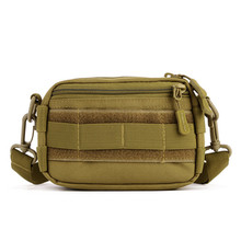 Hot Brand Mini Crossbody Bag Side MOLLE System Vice Bag Fashion Leisure Men Nylon Small Bag 2017 Free Shiipping Z228