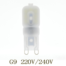 1x G9 LED Lamp 5W 220V 240V SMD2835 G9 LED Bulb 360 Degree Lighting High Transmittance Warm/Cold White