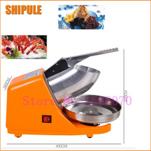 Hot SHIPULE Innovative Products 2017 Commercial Ice Shaver High Efficiency Snow Cone Maker Ice Crusher Machine(China)