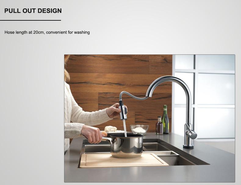 Touch Faucet Kitchen (9)