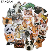 TANGAN24 pcs anima male Stickers on Motorcycle Suitcase Home Decor Laptop Covers DIY Decal In the Car Sticker styling bicycle(China)
