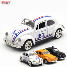 Wiben 1967 Volkswagen Beetle Diecasts & Toy Vehicles Alloy Pull Back Vintage Car Model Toy For Gift Collection Kids