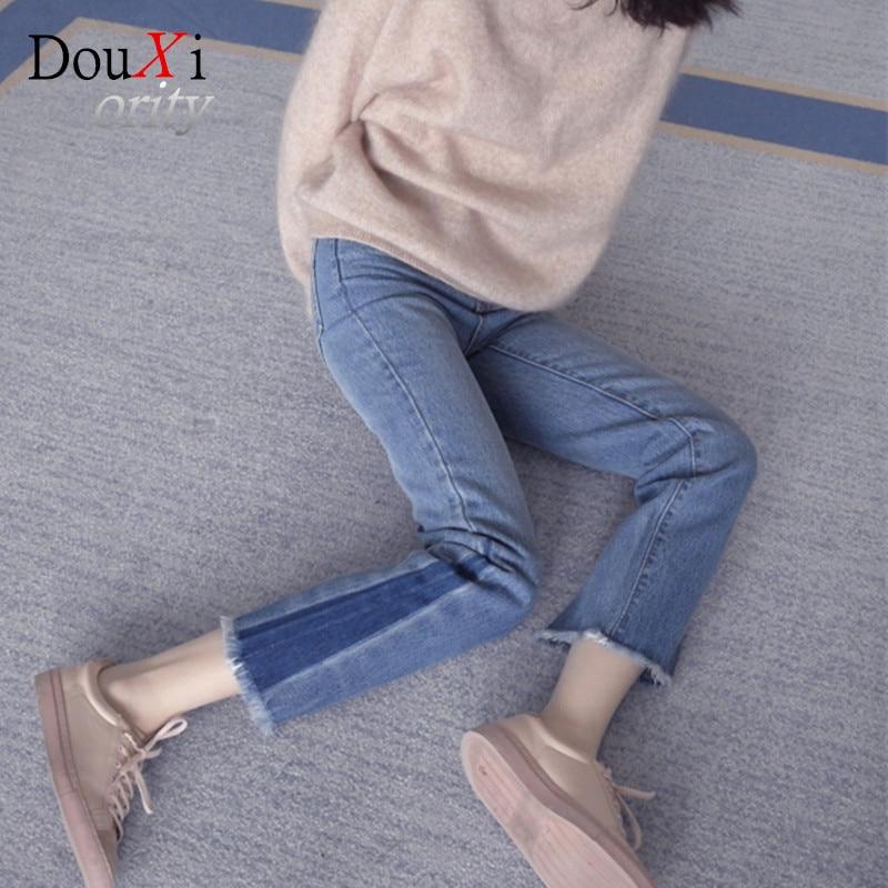Women high waist jeans female capris denim wide leg casual loose jeans women trousers plus Size 26-30 Одежда и ак�е��уары<br><br><br>Aliexpress