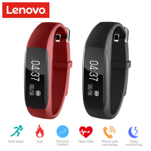 Lenovo HW01 Smart Band Fitness Bracelet Wristband Smartband Band Overwatch Bluetooth 4.2 Activity Heart Rate Moniter Pedometer
