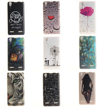 Buy Lenovo P70 Case Silicon Art Printing Lenovo P70 P70T P 70 Cover Tiger Owl Sexy girls Flowers Phone Fundas Coque Cute Cartoon for $2.38 in AliExpress store