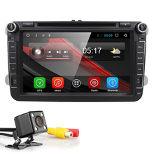 Android 6.0 Quad Core 2 Din Stereo 1024X600 Car DVD Player for Volkswagen Golf Plus Golf R  Polo EOS  (DTV DAB+ Optional)