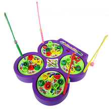BOHS Electronic Magnetic Fishing Toys, Hand-brain Coordination Exercise Family Game(China)