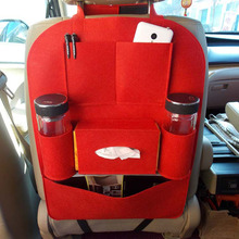 Auto Car Storage Bag Car Seat Multi Pocket Travel Storage Bag Hanger Car Styling Back Car Seat Cover Organizer Holder Backseat(China)