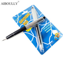 100% Safe Funny Promotion Fancy Shocking Ball Point Pen Shocking Electric Shock Joke Prank Trick Fun Novelty Friend's Best Gift(China)