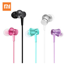 (Promotion)Xiaomi Piston 3 Earphone In-Ear Headset Aluminum Alloy sound chamber Music Stereo for smartphone Original(China)