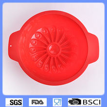SILIKOLOVE Silicone Forms Baking Tools Non-stick Cake Pans Cake Mould Oven Flower Shape Tart Mould Bread Tools Silicone Baking(China)