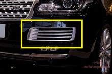 Chrome Front Fog vent mesh grille cover Frame trims Range rover L405 2013-2016(China)