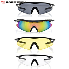 Buy ROBESBON Windproof Cycling Glasses Outdoor Sport Mountain Bike MTB Bicycle Glasses Motorcycle Sunglasses Eyewear for $3.16 in AliExpress store