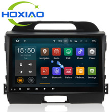 Car DVD player Gps Android 6.0  for KIA Sportage R / Sportage 2009 2010 2014 2011 2012 2013 2015 Radio RDS WIFI BT 9 inch 2 DIN