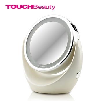 TOUCHBeauty Led Maquillage Miroir 360 Rotatif Excellent Éclairage 1x 5x Haute Clair Cosmétique Miroir TB-0678
