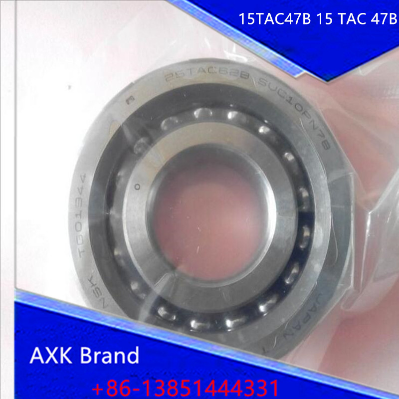 1pcs 15TAC47B 15 TAC 47B SUC10PN7B 15x47x15 AXK High Speed High Load Capacity Ball Screw Support Bearings<br><br>Aliexpress