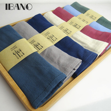 Solid Color CLinen/ Cotton Kitchen Towel Dish Towel Cleaning Cloth 2pcs/lot 30X42cm Tea Towel Ultra durable pano de prato