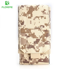 FLOVEME 2017 Outdoor 5.5 inch Sport Pouch Military Case For Sumsung S7 S6 edge S5 S4 Bag Cool Man Mobile Phone Cover Coque Capa(China)