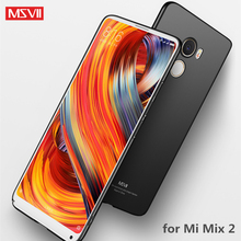 Buy MSVII Xiaomi Mi Mix 2 Case Cover Xiaomi Mix 2 Case Ultra Thin Full Protection PC Frosted Hard Protective Case Mix2 for $4.49 in AliExpress store