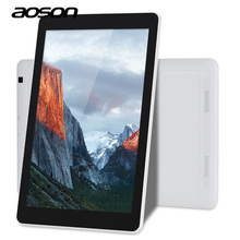 New 10.1 inch Android 6.0 Aoson R102 Tablet PCs 1GB 16GB IPS Sreen 800*1280 Quad Core Dual Cam Bluetooth WIFI 5000mAh Battery(China)
