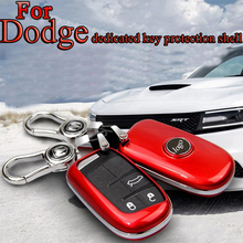 Car Cover Case Key Shell For Dodge caliber ram1500 journey caravan Nitro Ram 2500 3500 Key Protection Case Car Styling New Style