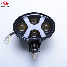 New design 6inch 60w oval car headlight led Auxiliary light with DRL for off road trucks 4x4 4WD/For jeep/For toyota