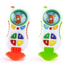 Baby Early Learning&Training Machines Toy Child Cartoon Music Phones Phone Kids Phone Educational Musical Phone For Children